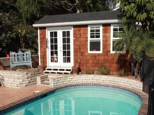 24 best prefab images on pinterest small house plans for Modular pool house