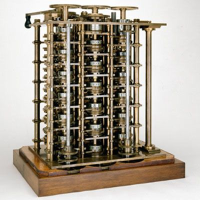 Difference Engine No. 1, portion,1832