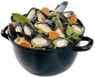 Recept voor mosselen met mosselsaus. - Plazilla.com