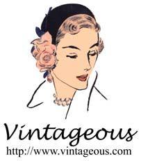 VINTAGEOUS  --  http://www.vintageous.com  --  Vintage Clothing, Vintage Accessories & Jewelry,  Vintage Wedding Dresses