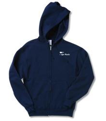 Jerzees NuBlend Full-Zip Hooded Sweatshirt - Screen  @4imprint #4imprint