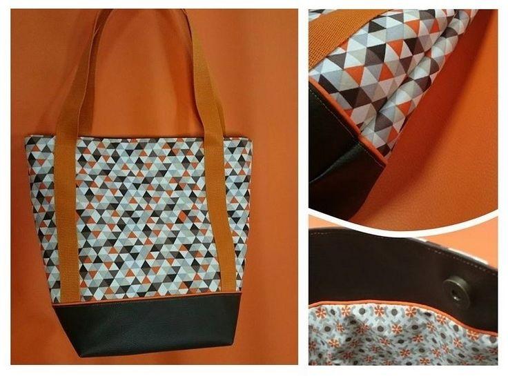 Le sac cabas est l'accessoire mode indispensable pour vos sorties. Voici un tuto simple et rapide pour le confectionner !
