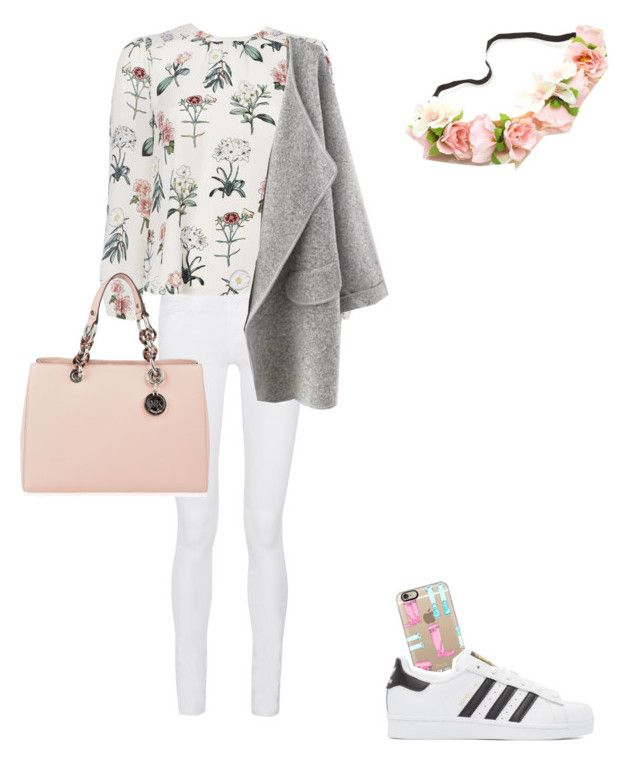 """""""#2"""" by joaninha123nutella ❤ liked on Polyvore featuring Casetify, Frame, adidas Originals and MICHAEL Michael Kors"""