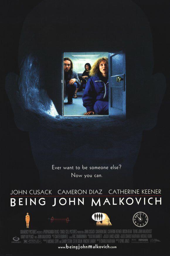 being john malkovich, spike jonze, 1999