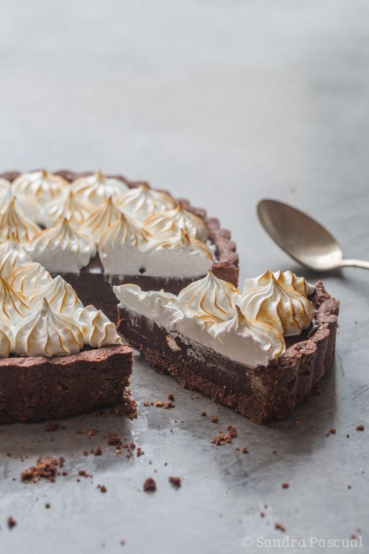 Tarte Chocolat & Noisette Meringuée