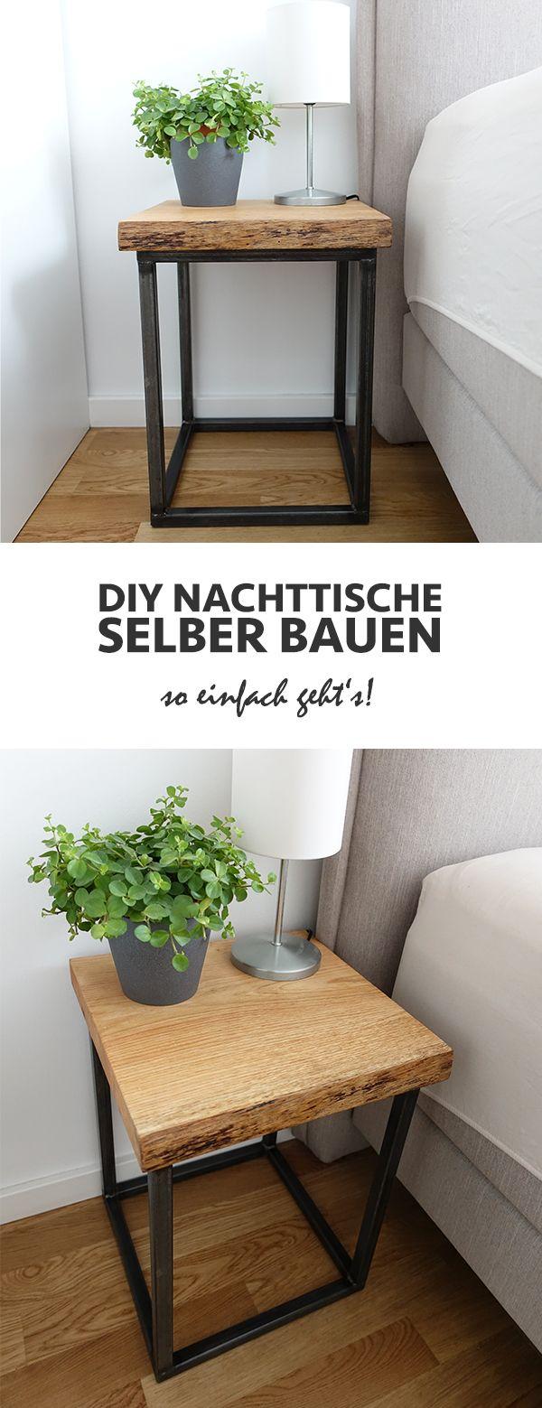 DIY Nachttisch selber bauen