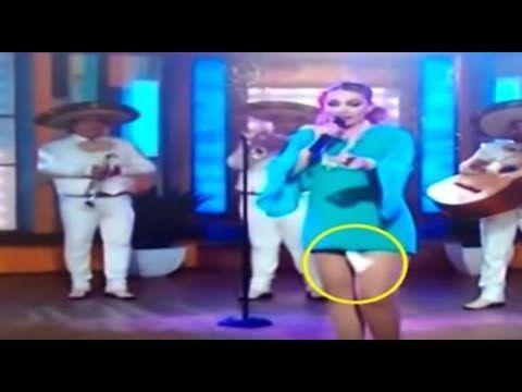 Momentos bochornosos (vergonzosos) en TV Mexicana.