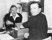 Radio in Australia | australia.gov.au Graham Kennedy & Bert Newton