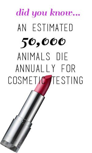Beauty can only be truly beautiful when it's cruelty-Free. [ARTICLE + LINK to LIST of cruelty-Free cosmetics, at the bottom of the article]