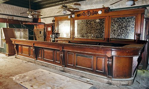 The Demolition Depot | The Finest in Architectural Ornaments: New home for an antique bar from Bayonne, NJ