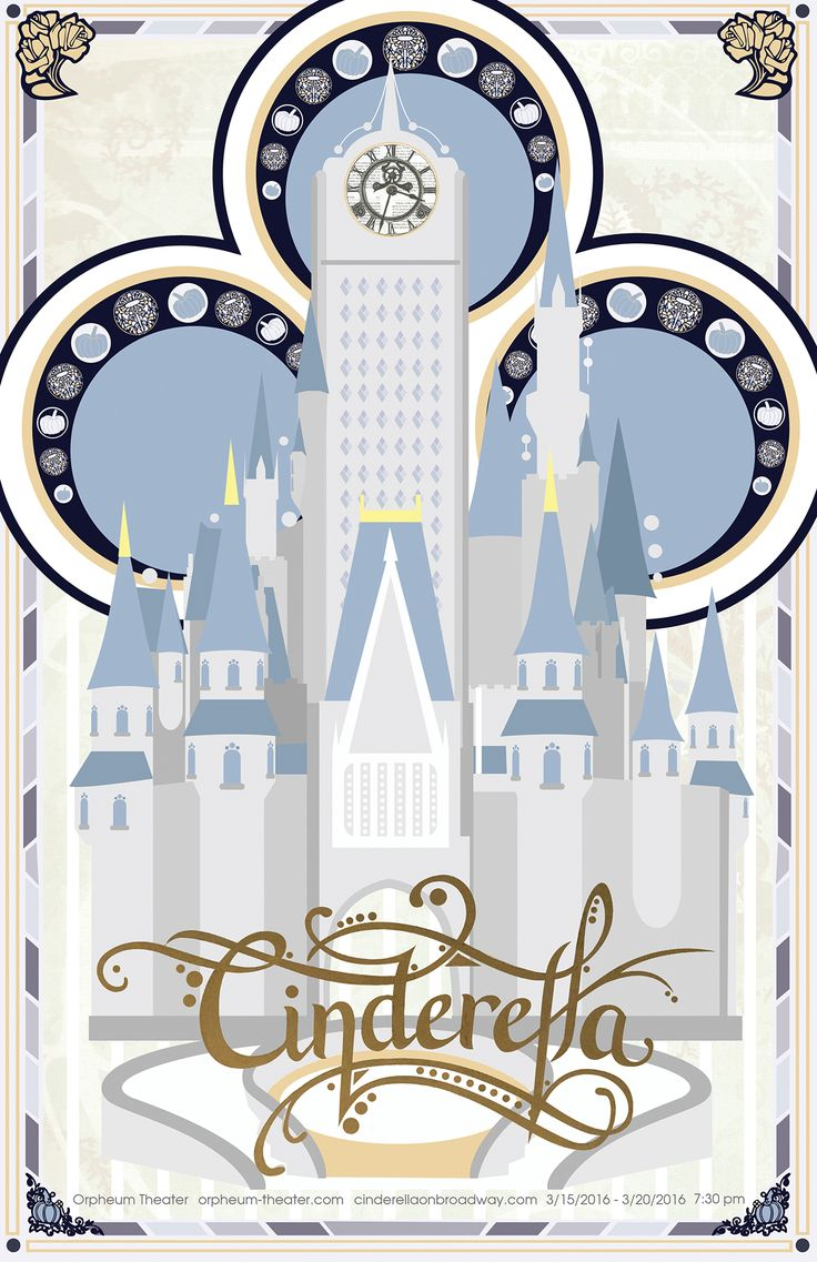 Cinderella (on Broadway) on Behance