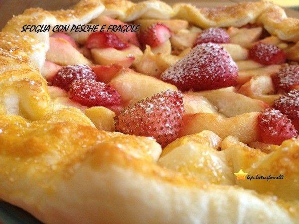 Italian Sfoglia Cake Recipes: Sfoglia Di Pesche E Fragole