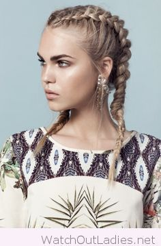 Awesome two french braids