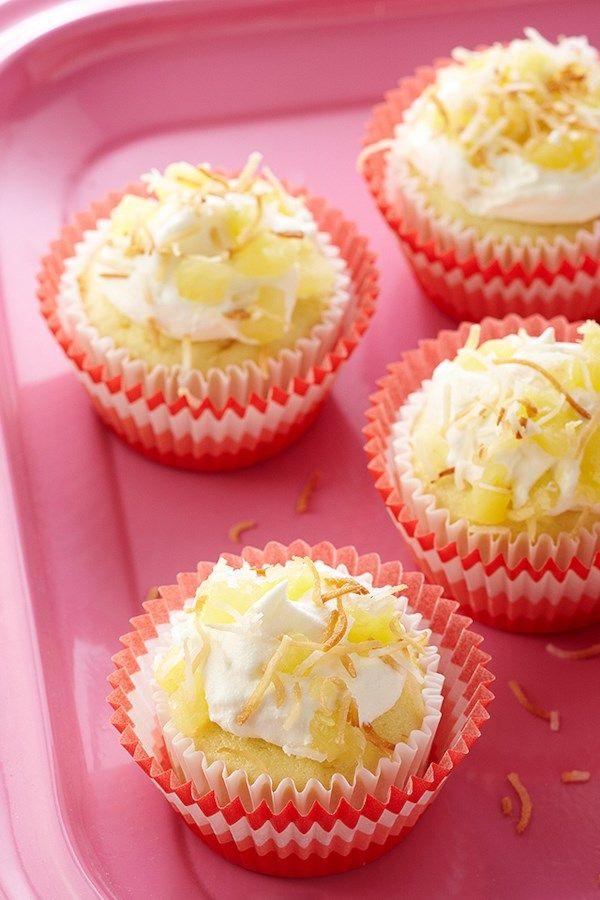 Island Pineapple Cupcakes Recipe Diabetic Cake Recipes Cupcake Recipes Diabetic Cupcakes