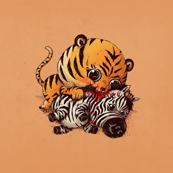 11 Adorable Illustrations of the Circle of Life|Alex Solis