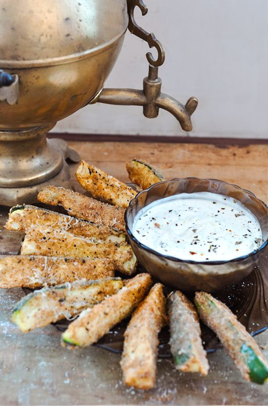 Summer, Don't Go or Parmesan Crusted Baked Zucchini Sticks
