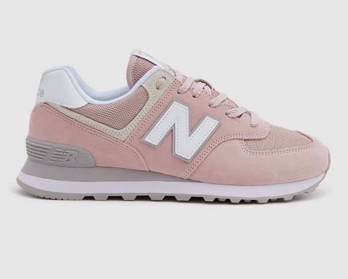 New Balance / 574 Core in Faded Rose/Overcast | Womens ...