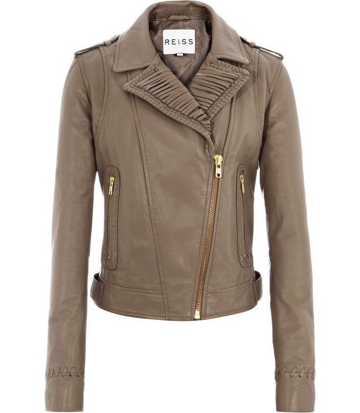 Reiss Dahla Leather