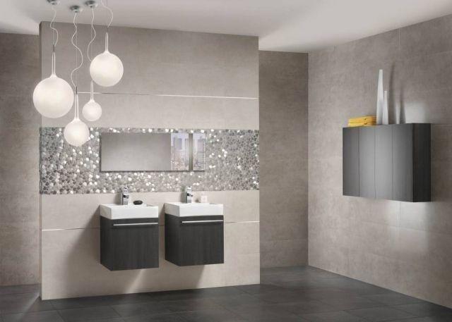 Exceptional Wand Bodenfliesen Für Badezimmer Großformate In Edlem Anthrazit Und  Graunuancen