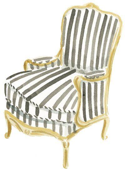 Interior - Chair - Black & White