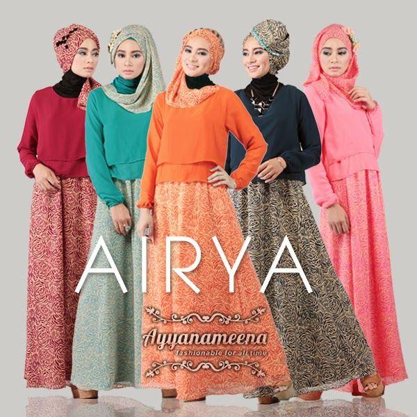 #motif #chiffon #sifon #dress #moslem #fashion #ayyanameena #airya