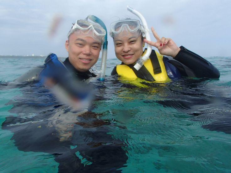 初サンゴ礁に大喜び! - http://www.natural-blue.net/blog/info_1286.html
