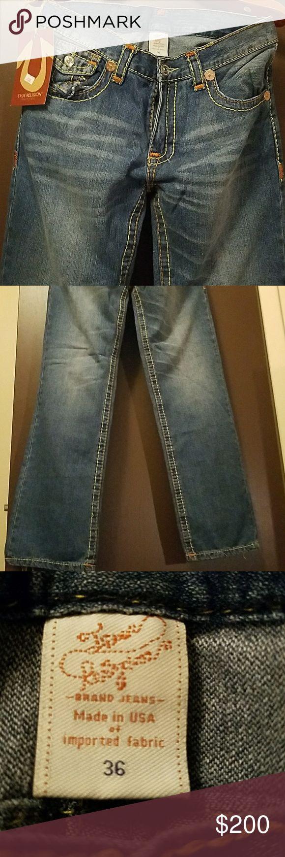 True religion mens jeans True religion men jeans. Brand New with tags True Religion Jeans Straight #mensjeansbrands