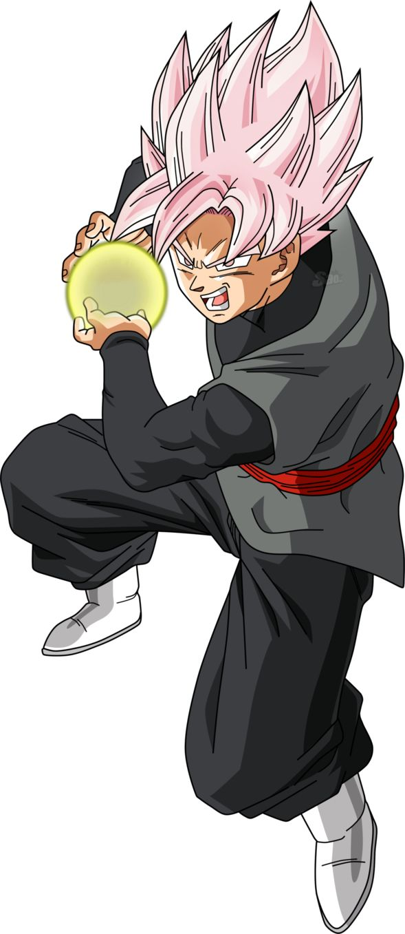 Goku Black SSGSS by SaoDVD on DeviantArt