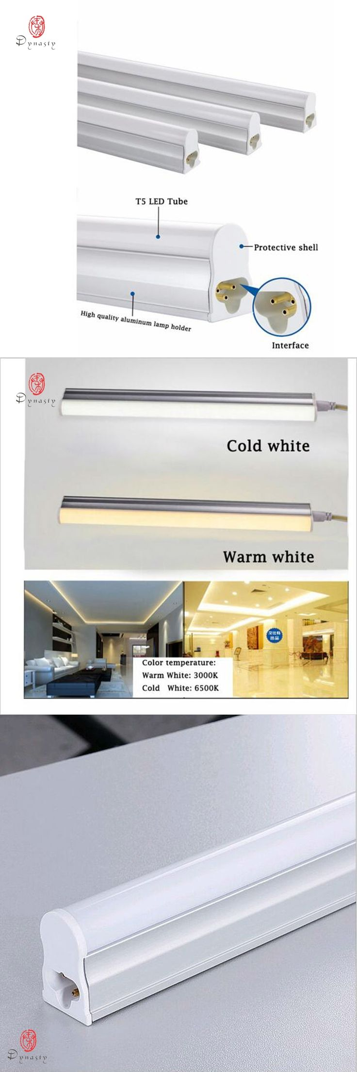 5Pcs/Lot LED T5 T8 Tube Super Bright Replace of Traditional Ballast Fluorescent 30CM 1Feet LED Fixture Strip Dynasty Free Ship