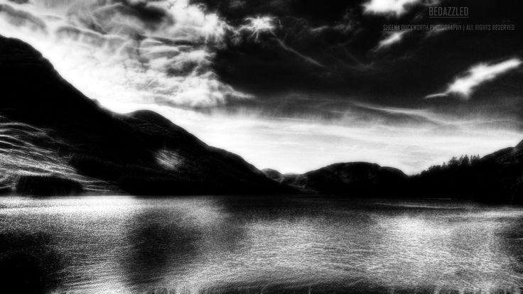 Scenery, Landscape, Lake, The Lake District, Water, Mountains, Sky, Clouds, Darkness and Light, Glow, Glowing, Mood, Moody, Atmosphere, Scenic, Dreamy, Sheena Duckworth Photography