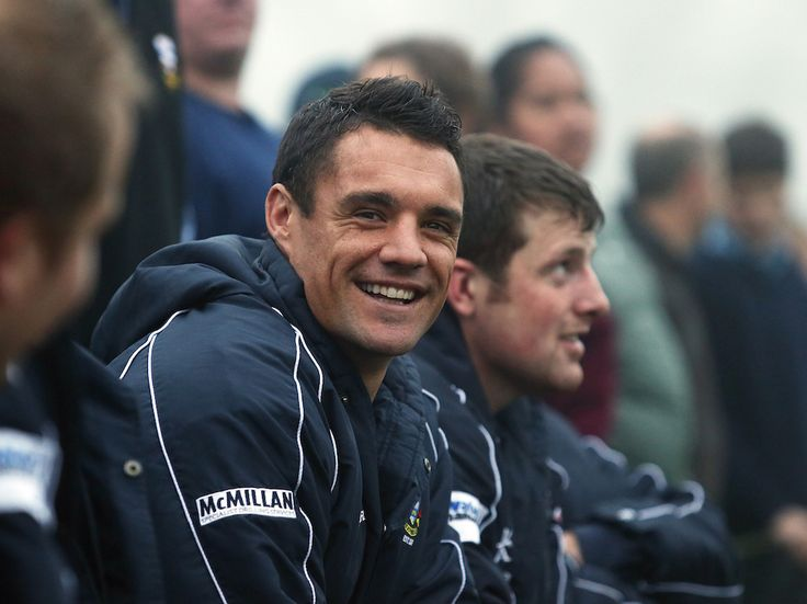 Shamed All Black legend Dan Carter has taken no time in finding a new major sponsor. - New Zealand Herald