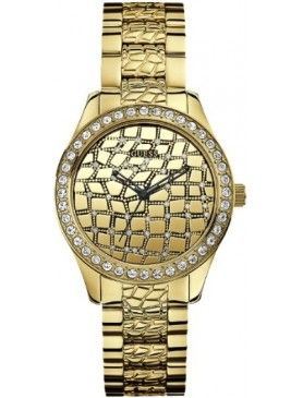 Womens Guess Croco Glam W0236L2 Watch