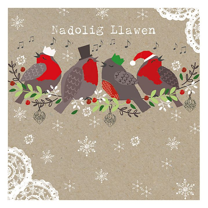 buy hammond gower kraft robin charity christmas cards in of 5 online at johnlewis