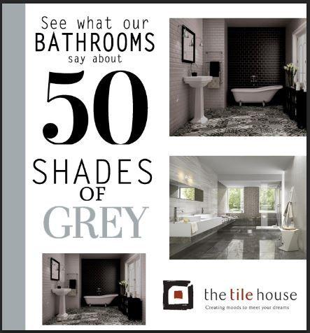 #50ShadesofGrey at www.thetilehouse.co.za #bathrooms
