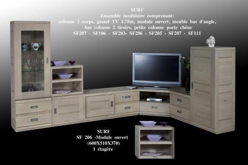 Etourdissant Meuble Tv Bas Angle Decoration Francaise