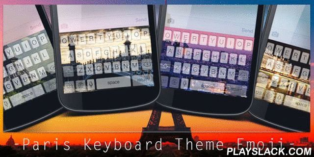 Paris Keyboard Theme Emoji  Android App - playslack.com , Add color to your life with Paris theme. It could be extremely fantastic if you can use the same theme for both keyboard and wallpaper. With Paris Keyboard Theme Emoji, you will be able to change the color or the picture of your keyboard to be a Paris style, and at the same time you can change the theme of your wallpaper to align with that of keyboard.Your phone and gadget will be dressed up keyboard and wallpaper with the latest…