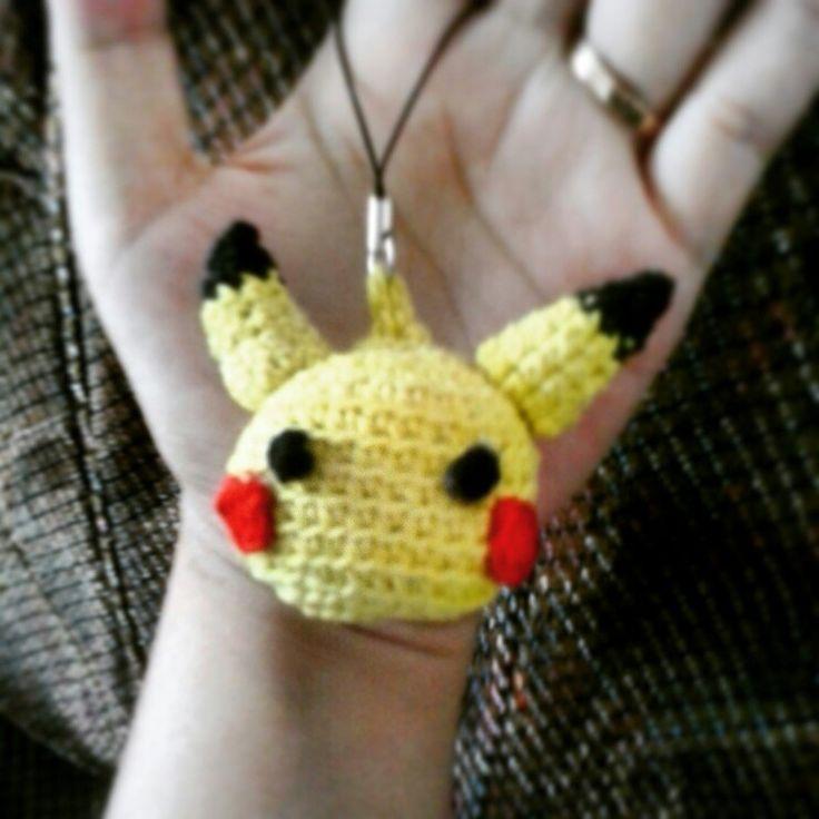 Pikachu pokemon crochet amirugumi
