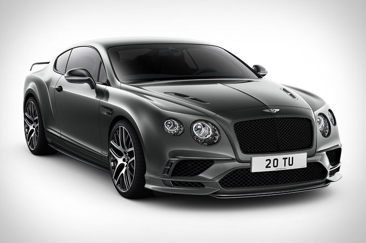 The Bentley Continental Supersports. It's not just the fastest production Bentley ever. It';s the fastest, most powerful four-seater in the world.