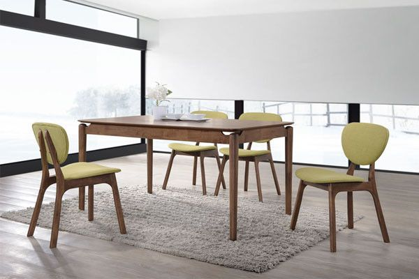 Julia 1.2m Dining Table + 4/6 Julia Chairs