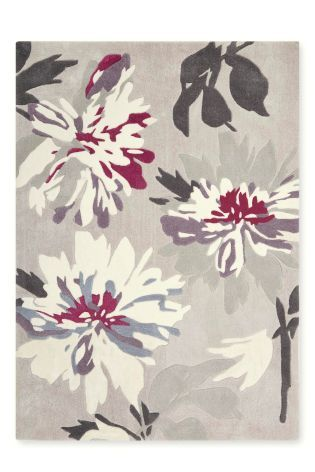 Plum Delicate Fl Rug From The Next Uk Online 180