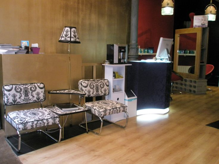 1000 images about le salon d 39 apodaca on pinterest - Mostrador peluqueria ...