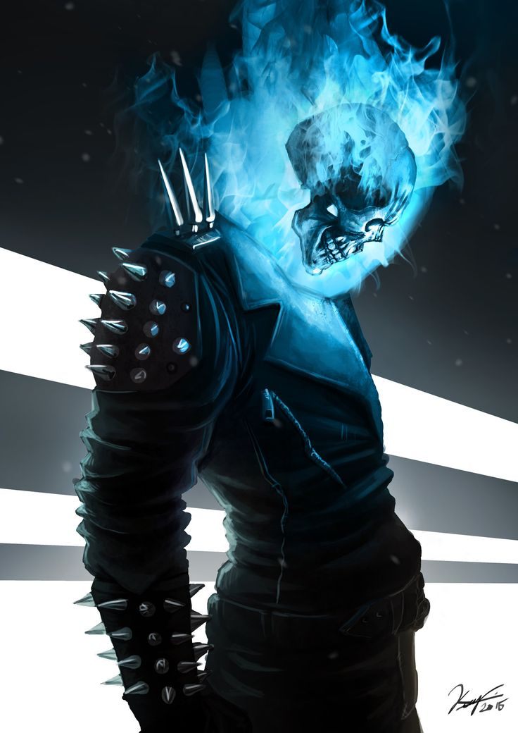 ArtStation - Ghost Rider the Angel that went Crazy, Kenny Mok