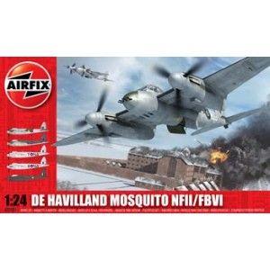Airfix - De Havilland Mosquito (fighter version) - 1:24