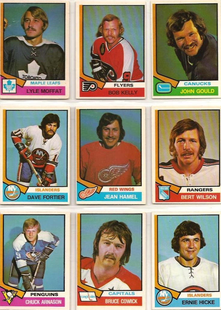 379-387 Lyle Moffat, Bob Kelly, John Gould, Dave Fortier, Jean Hamel, Bert…