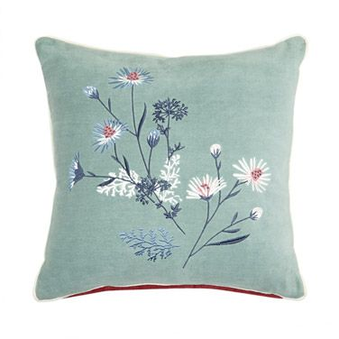 Carolyn Donnelly Eclectic Embroidered Cushion