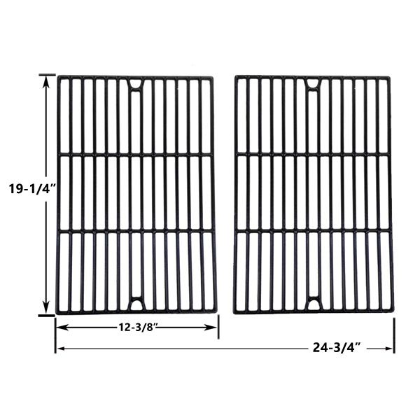 2 PACK PORCELAIN CAST IRON REPLACEMENT COOKING GRIDS FOR GRILL CHEF BIG-8116, WEBER GENESIS E-320, E310 GAS GRILL MODELS Fits Compatible Grill Chef Models : BIG-8116 Read More @http://www.grillpartszone.com/shopexd.asp?id=34008&sid=23251