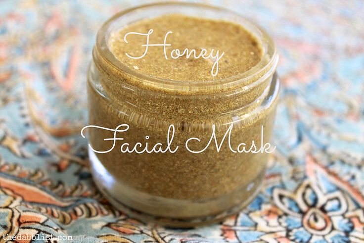 Herbal Honey Facial Mask | http://www.thedabblist.com/herbal-honey-facial-mask/