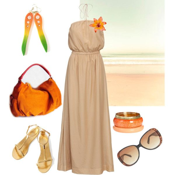 "bag: http://www.polyvore.com/sale_leather_hobo_bag_tangerine/thing?id=62523801  earrings: https://www.etsy.com/listing/106772413/neon-nude-dangle-earrings-urban-tribal  beach photograph: http://www.etsy.com/listing/76328708/beach-photograph-nautical-summer-home  bangle set: http://www.ardenb.com/catalog/product.jsp?categoryId=1440=1443=57750_source=gan_medium=affiliate_campaign=k147466    ""Beach yumminess"" by dorijanki on Polyvore"