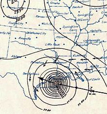 The Hurricane of 1900 made landfall on September 8, 1900, in the city of Galveston, Texas, USA. It had estimated winds of 145 miles per hour (233 km/h) at landfall, making it a Category 4 storm on the Saffir–Simpson Hurricane Scale. It became extratropical on September 11 and was the deadliest hurricane in US history, and the second costliest hurricane in U.S. history.