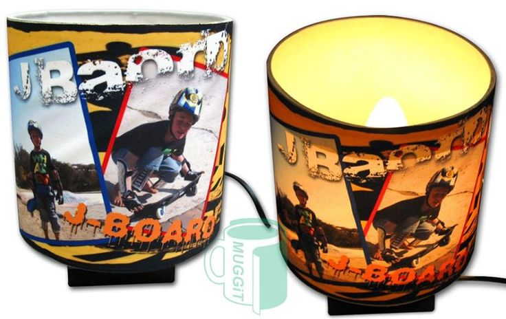 Cool lamps with your treasured photos printed on the lamp shades